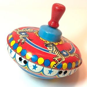 Vintage Toy Spinning Top